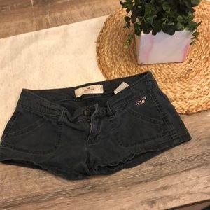 Dark Blue Hollister Shorts